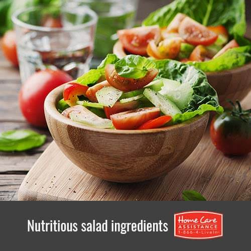 Healthy Salad Ingredients for Seniors in Tucson, AZ