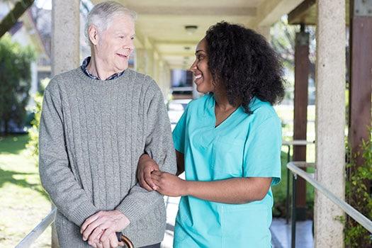 Elder-and-Caregiver